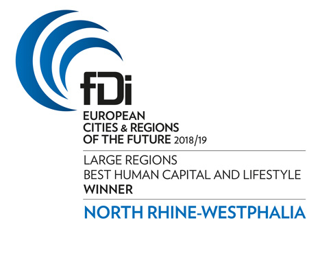 European Cities & Regions of the Future 2018/19 - Human Capital and Lifestyle Winner - NRW